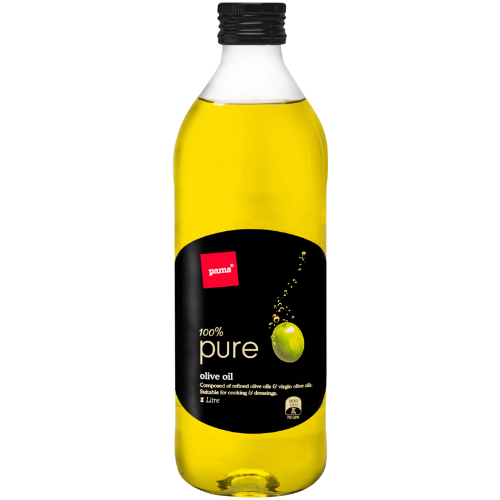 Pams 100% Pure Oil 1ltr